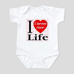I Survived Cancer Infant Creeper