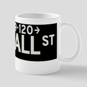 Wall Street in NY Mug