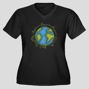 Earth Vine - Recycle - Reduce - Restore Women's Pl