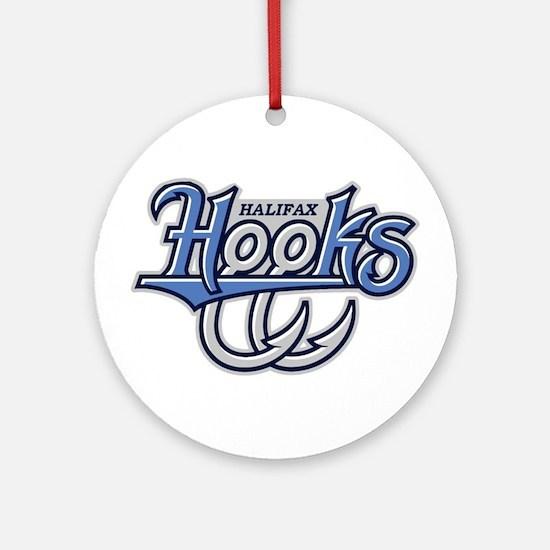 Halifax Hooks Ornament (Round)