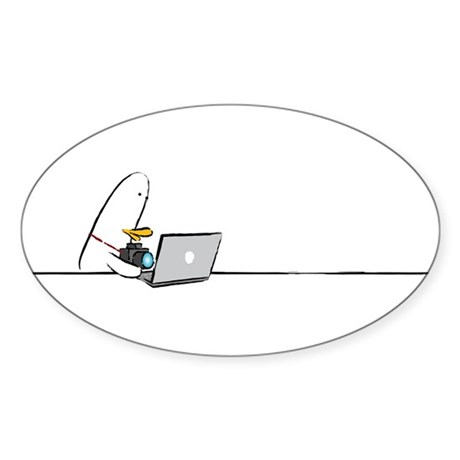 WTD: At Laptop Oval Sticker (50 pk)