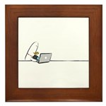 WTD: At Laptop Framed Tile