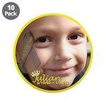 """Juju's World 3.5"""" Button (10 pack)"""