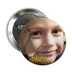 """Juju's World 2.25"""" Button (100 pack)"""
