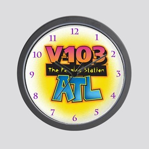 V-103 ATL Wall Clock