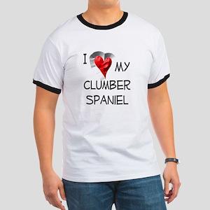 Clumber Spaniel Ringer T