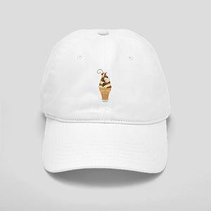 Chocolate & Vanilla Ice Cream Cap