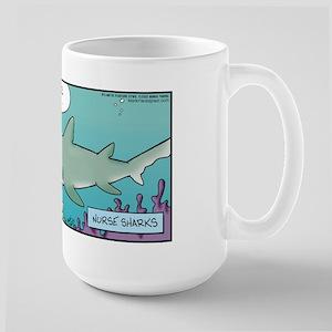 Shark Nurse Pinch Large Mug