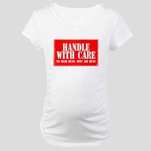 No Bear Hugs - Maternity T-Shirt