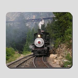 Georgetown Colorado Railroad Mousepad