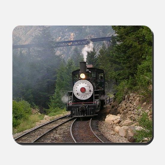 Georgetown Colorado Railroad Mousepad