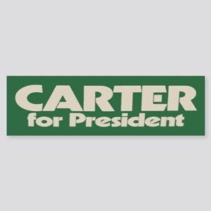 Carter for President Bumper Sticker