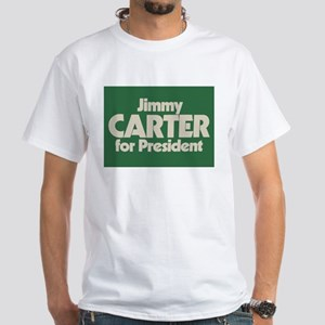 Carter for President White T-Shirt