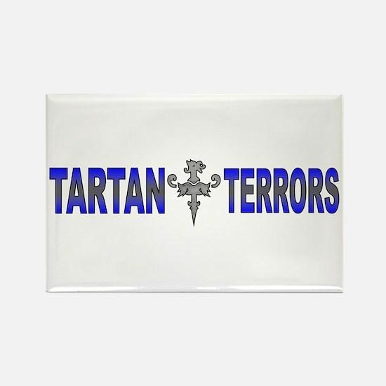 Tartan Terrors Rectangle Magnet
