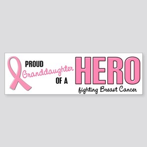 Proud Granddaughter Of A Hero 1 (BC) Sticker (Bump