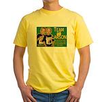 Team Larson Yellow T-Shirt