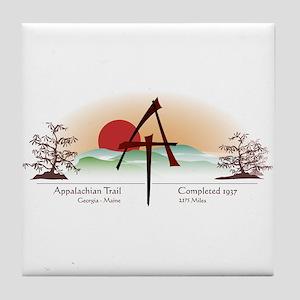 Asian Appalachian Trail Tile Coaster