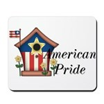 American Pride - Birdhouse Mousepad