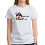 American Pride - Birdhouse Women's T-Shirt
