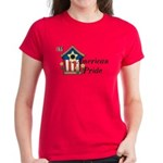 American Pride - Birdhouse Women's Dark T-Shirt