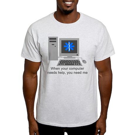 Computer Repair Light T-Shirt