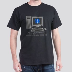 Computer Repair Dark T-Shirt
