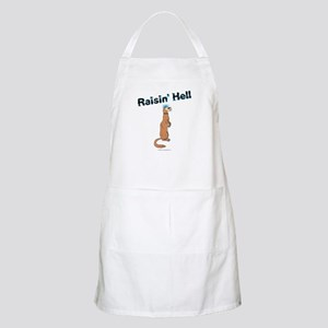 Ferret BBQ Apron - Raisin' Hell
