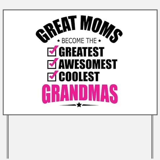Grandma Yard Sign