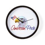 American Pride - Eagle Wall Clock