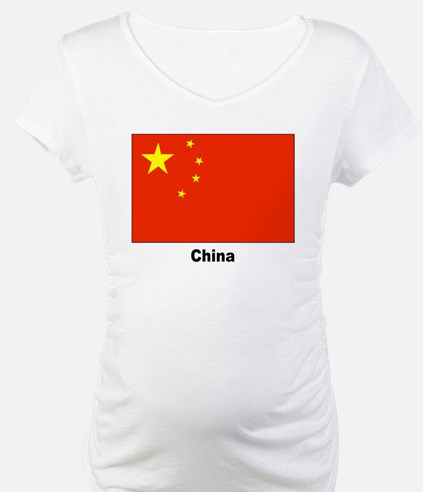 China Chinese Flag Shirt