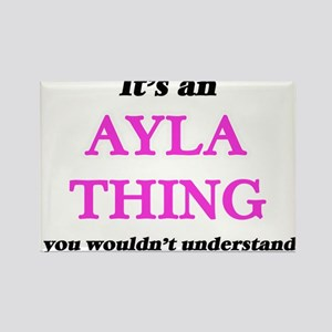 It's an Ayla thing, you wouldn't u Magnets