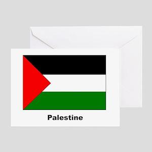 Palestine Palestinian Flag Greeting Card