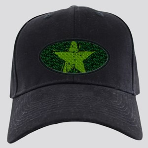 Green Melting Star Black Cap