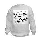 Made in Texas Kids Sweatshirt