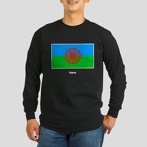 Gypsy Flag Long Sleeve Dark T-Shirt