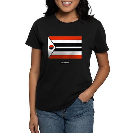 Arapaho Native American Flag Women's Dark T-Shirt