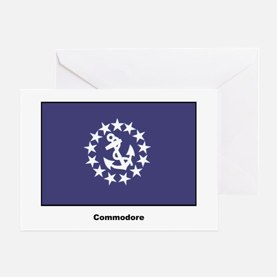 Commodore Flag Greeting Card