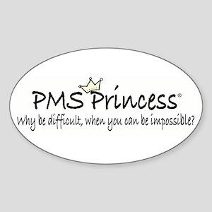 PMS Princess Oval Sticker