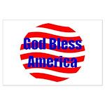 God Bless America Large Poster