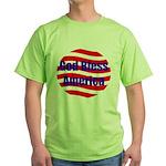 God Bless America Green T-Shirt