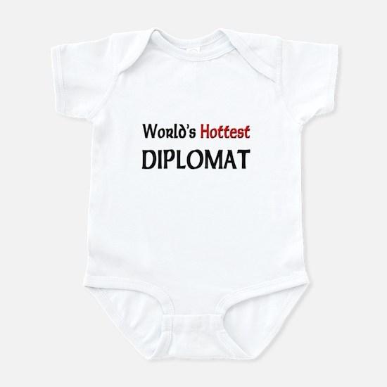World's Hottest Diplomat Infant Bodysuit