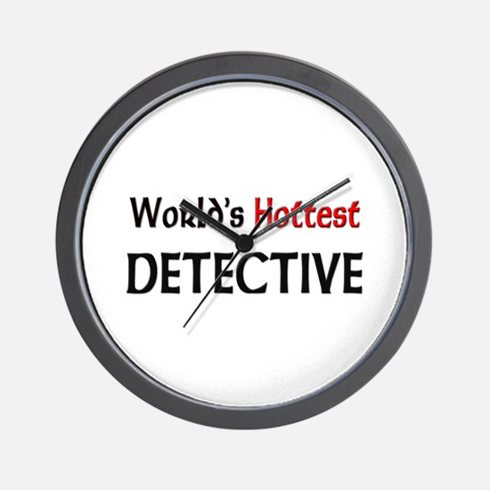World's Hottest Detective Wall Clock