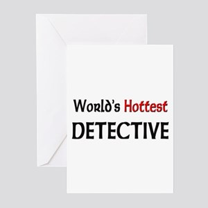 World's Hottest Detective Greeting Cards (Pk of 10