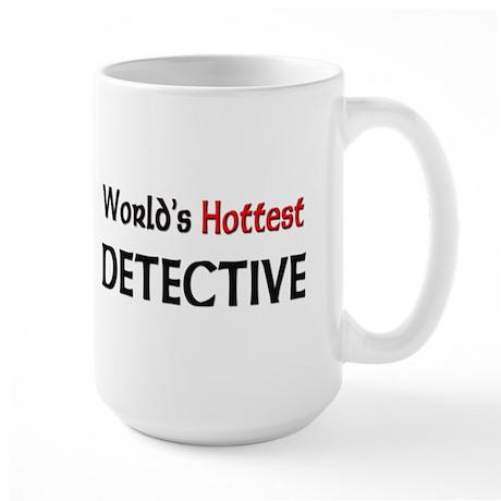 World's Hottest Detective Large Mug