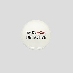 World's Hottest Detective Mini Button