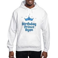 1st Birthday Prince Ryan! Hoodie