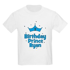 1st Birthday Prince Ryan! T-Shirt