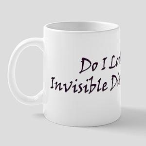 Invisible Diseases Suck! Mug