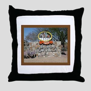 Fort Huachuca Throw Pillow