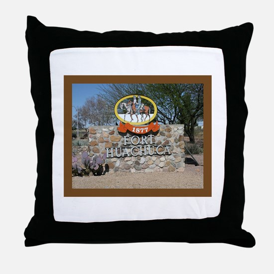 Fort Huachuca Throw Pillow